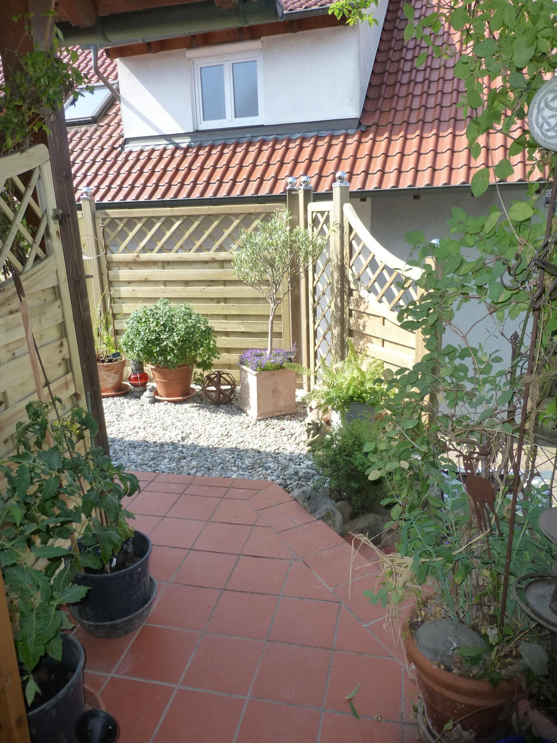 Sichtschutz gegen Nachbarfenster Garten Gartenforum